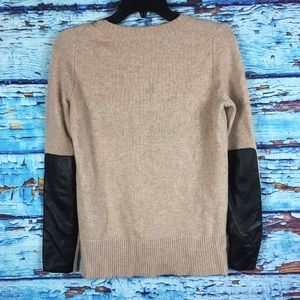 J crew wool cashmere blend sweater
